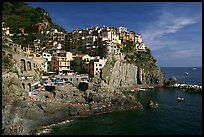 Cinque Terre, Italy. I WILL be going there someday.