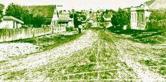 Curitiba Naqueles Idos: Rua Bento Vianna, entre a Avenida Iguaçu e a Igreja da Água Verde. Data: agosto de 1937. Foto: Arthur Wischral. Acervo: Cid Destefani/FCC-Casa da Memória. Gazeta do Povo, Coluna Nostalgia (21/05/1995)