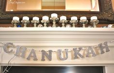 Chanukah Home Tour | FrugElegance | www.frugelegance.com