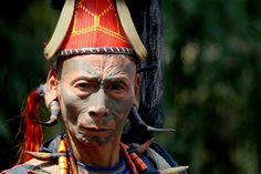 Konyak - foto gemaakt in Noordoost India