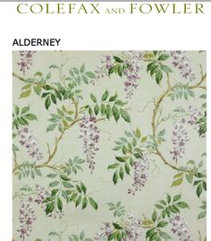 Colfax and Fowler Alderney wallpaper.