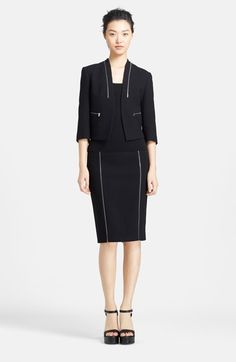 Michael Kors Jacket, Top & Skirt  available at #Nordstrom