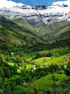 Northern Spain/Basque Country/Pyrenees. Absolutely Breathtaking drive from…