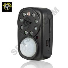 The ideal tool for covert surveillance. Use the GSM motion activated camera to secure areas where internet connectivity is not available, but immediate notification is required. This motion activated camera can see in the dark thanks to those IR LEDs, but that is not all it can do. Add a SIM card and you have a fully independent camera system that you can use anywhere!