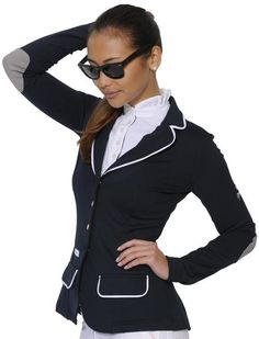 Spooks Patch Show Jacket - $389.99   Available in Black and Navy  ....Super expensive but pretty