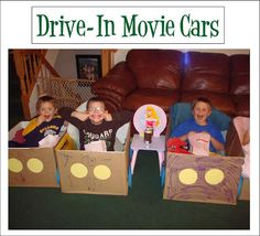 Drive-In Movie Cars!