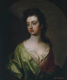 Michael Dahl  Portrait of Mrs Haire 1701