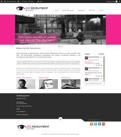 De #Website en volledige #Branding design die we gemaakt hebben voor onze klant SEE Recruitment ➠  www.see-recruitment.com | Een volledige website inclusief nieuwsfeed, volledige social integratie, blog en nog veel meer. ★ Indien je interesse hebt in een gesprek over wat wij kunnen beteken voor jouw uitstraling naar je markt en ideale klant dan kun je Jakolien Sok bereiken op 06-11907987 of jakolien@boostingyourbrand.nl ★