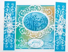 Je bent Geweldig !Annie heeft mooie voorbeelden gemaakt voor de verpakking van deze gave serie blauwe mallen die in November zijn uitgekomen. Het zijn 3 modellen, een ronde, ovaal en border mal.