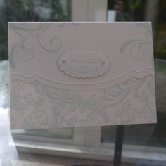 Stampin Up, Everything Eleanor, Bella Toile, Soft Sky
