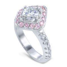 Pink Diamond Engagement Rings | Moi Moi Fine Jewellery