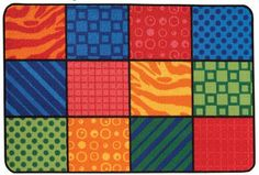 Value Line Patterns at Play Rug 4' x 6'