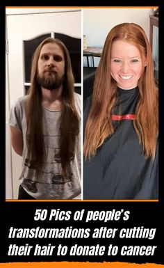 50 Pics of people's transformations after cutting their hair to donate to cancer – Sophia – beauty Background Noise, Beauty Background, Donating Hair, Hit The Button, Avengers 2, Wrong Time, Amazing Photography, Funny Jokes
