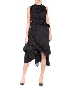 Vivienne Westwood Anglomania - draped dress - made in Italy - ZO ET LO EASY SHOPPING WORLDWIDE EXPRESS SHIPPING