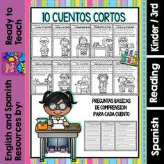 Easy Readings for Reading Comprehension in Spanish - Scien