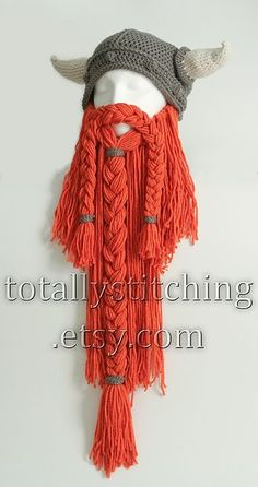 Viking or Dwarven Beard « The Yarn Box  #crochet costume