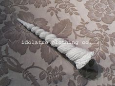 Unicorn or Narwhal Horn by idolatre on Etsy