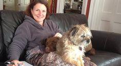 What my dogs do for me ~ Jennifer LaRue Huget, #MSblog