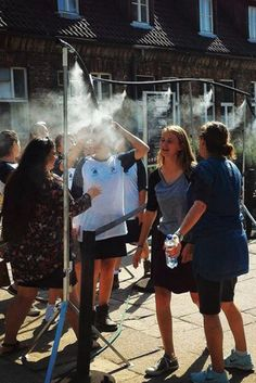 Auschwitz Summer Cooling 'Showers' Anger Visitors