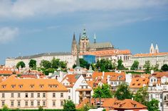 """Visit Prague the """"Golden City"""" on the Vltava river. Discover grand buildings, the city centre and the cultural flair of the beautiful city. Day Trips From Vienna, Prague Guide, Vienna State Opera, Visit Prague, Free Hotel, Bus Travel, Day Tours, Walking Tour, City"""