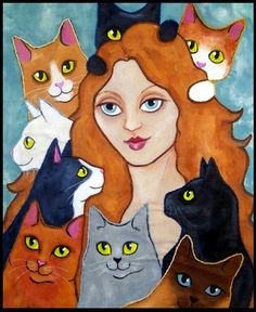 a real cat-women..