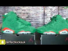 5903ec0c51b4 First LOOK !! Air Jordan 6 Gatorade green HD Review from perfectkicks.uk