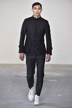 Male Fashion Trends: Loris Diran Fall-Winter 2017 - New York Fashion Week Men's