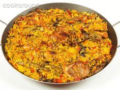 Paella valenciana casalinga: Ricette Spagna | Cookaround