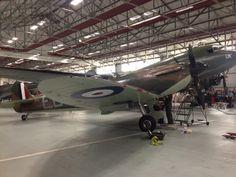 Oldest flying spitfire, Battle of Britain veteran BBMF