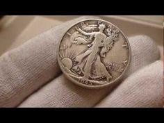 1945 Walking Liberty Half Dollar Coin Review