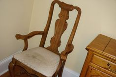 Sitting Pretty- How to Reupholster Dining Room Chair Seat Covers