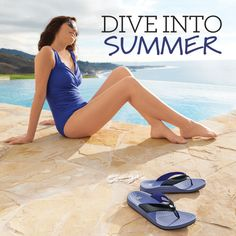 Dive into Summer with water-friendly sandals for beach vacations or lounging by the pool. We love these APMA-accepted New Balance sandals with 360-degree heel cups that promote foot alignment. Try them and you won't even want to go barefoot!