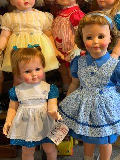 Girls Dresses, Flower Girl Dresses, Summer Dresses, Ideal Toys, Vintage Dolls, Beautiful Dolls, Wedding Dresses, Fashion, Dresses Of Girls