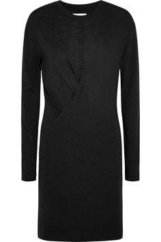 Étoile Isabel Marant|Mini-robe en jersey flammé à fronces Wilder|NET-A-PORTER.COM
