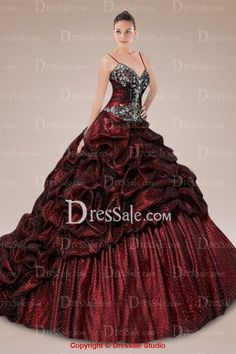 Captivating Spaghetti Straps Quinceanera Gown Featuring Appliques and Pick-ups Skirt