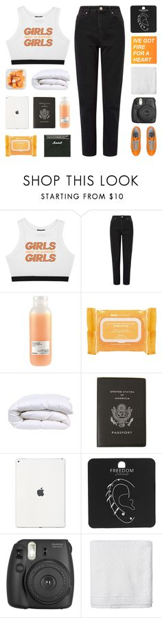 """""""you wake up flawless"""" by lavender-and-mint ❤ liked on Polyvore featuring Minga, Miss Selfridge, Davines, Ole Henriksen, Smythson, Topshop, Fujifilm, Simple Life and Quattrobarradodici"""