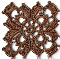 51 New Ideas for crochet coasters free pattern square afghans Picot Crochet, Crochet Art, Thread Crochet, Irish Crochet, Crochet Crafts, Crochet Doilies, Crochet Flowers, Crochet Projects, Crochet Granny