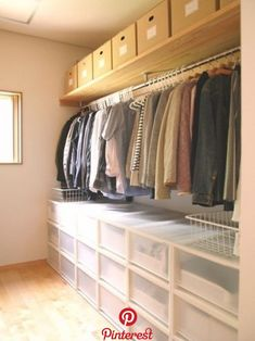 10 Stunning Open Storage Room Concepts For Advanced Residence Muji Storage, Closet Storage, Bedroom Storage, Closet Organization, Storage Spaces, Organization Ideas, Wardrobe Closet, Closet Bedroom, Closet Space
