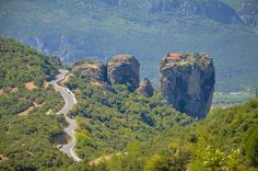 guided motorcycle tours greece Unesco and Archaeological sites tour