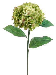 19 best faux flowers images on pinterest art flowers artificial green hydrangea silk wedding flowers mightylinksfo