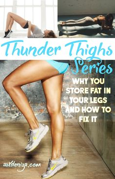 Why do women store most of their body fat in their lower body? How can we decrease fat in our legs naturally? These tips will help you achieve the lean legs you always wanted! @fitwithdeniza