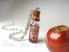 Essence of Poison Apple  Evil Queen  Snow White  by LittleGemGirl, $19.00