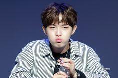 #김재환 #KimJaeHwan just drink, like a pouty face. I wanna squish!