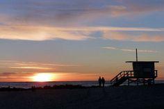 Venice Beach @ sunset