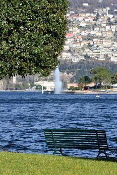 Lago di Como, la fontana di Villa Geno - Italy