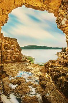plasmatics-life:      Golden Cave | Turkey by Husham Alasadi