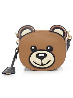 MOSCHINO TEDDY BEAR SHAPED SHOULDER BAG.  moschino  bags  shoulder bags   leather   e709d6b9d7