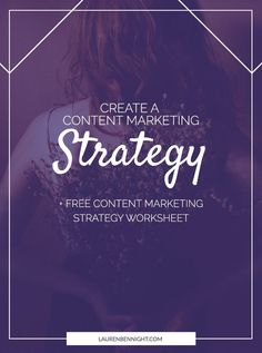 Without a content marketing strategy, content marketing becomes just content. It's a good idea to write out and solidify your strategy.