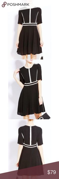 0b8cbce366 VIVA VENA Black Color-Block A-Line Mini Dress NWT. By Viva Vena from StyleWe.  I lost weight and didn t have a chance to wear this beauty!