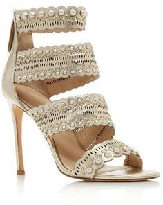 4ddb2eecb39 Pour La Victoire Women s Ellura Embellished Leather High-Heel Sandals   affiliate